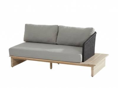 4 Seasons Outdoor Altea 2-Sitzer Sofa Ablage links