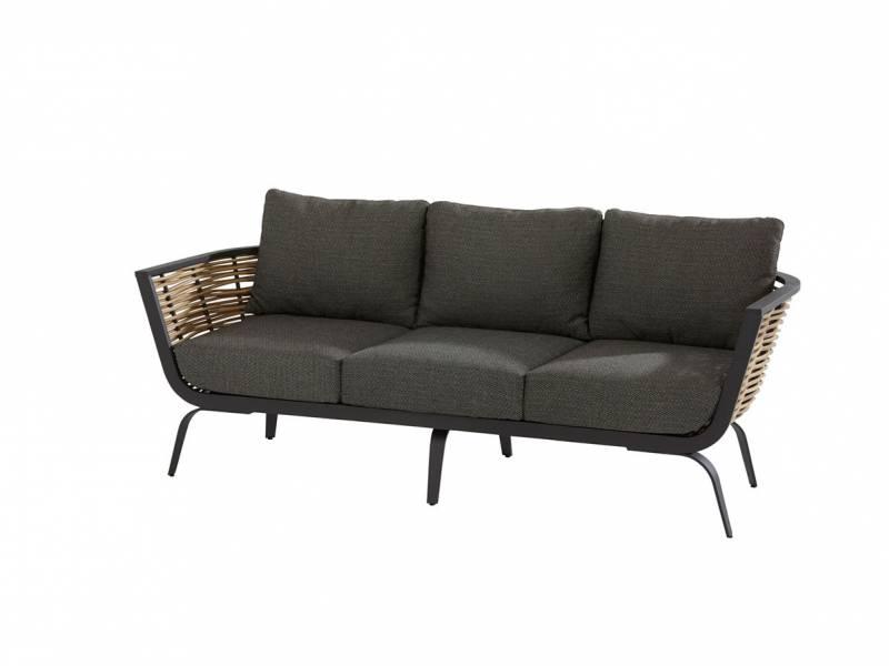 4 Seasons Outdoor Antibes 3-Sitzer Sofa inkl. Kissen & 4 Dekokissen