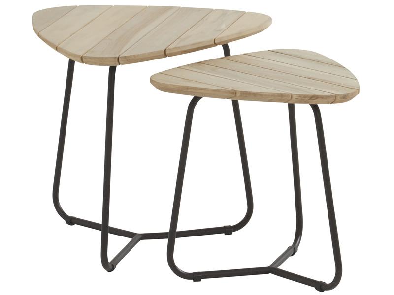 4 seasons outdoor axel beistelltisch 2 st ck. Black Bedroom Furniture Sets. Home Design Ideas