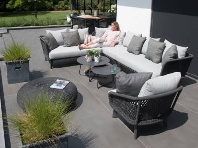 4 Seasons Outdoor Belize 2-Sitzer Sofa, rechts