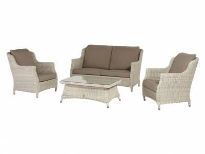 4 Seasons Outdoor Brighton Provance 2,5 Sitzer Sofa