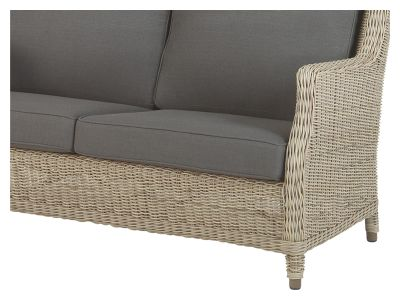 4 Seasons Outdoor Brighton Pure Sofa 2,5 Sitzer