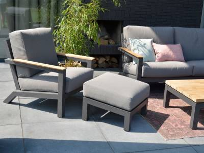 4 Seasons Outdoor Capitol Kaffeetisch 120 x 75 x 35 cm