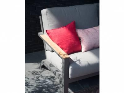 4 Seasons Outdoor Capitol Sofa 2,5-Sitzer, inkl. 4 Kissen