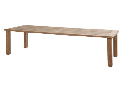 4 Seasons Outdoor Casa, Teak-Gartentisch, 300x110 cm