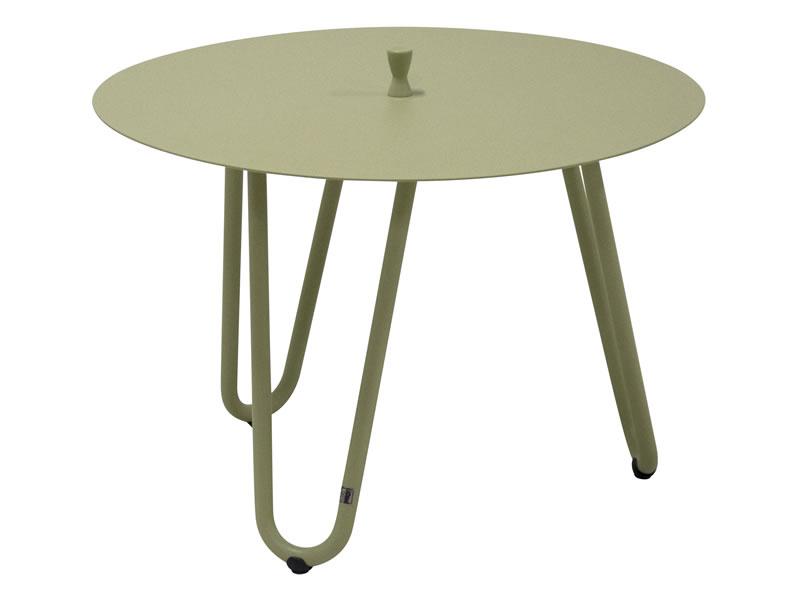 4 seasons outdoor cool beistelltisch 60 cm h he 40cm farbe olive gartenm bel hamburg shop. Black Bedroom Furniture Sets. Home Design Ideas
