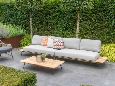 4 Seasons Outdoor Cucina Platform Mittel-Modul inkl. 2 Kissen
