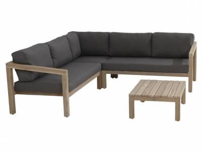 4 Seasons Outdoor Evora 2,5-Sitzer Sofa, inkl. 4 Kissen