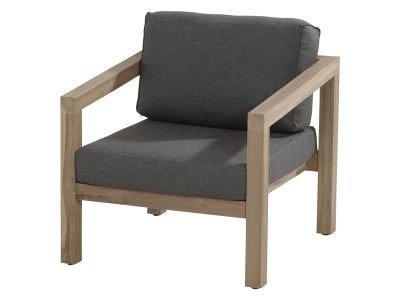 4 Seasons Outdoor Evora living Sessel inkl. 2 Kissen