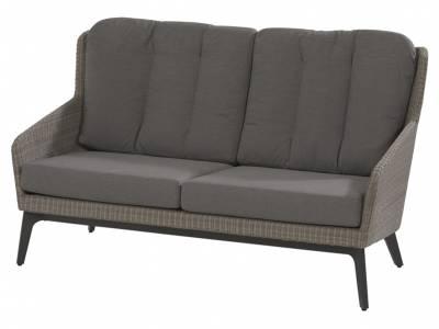 4 Seasons Outdoor Luxor 2,5-Sitzer Sofa, inkl. 4 Kissen