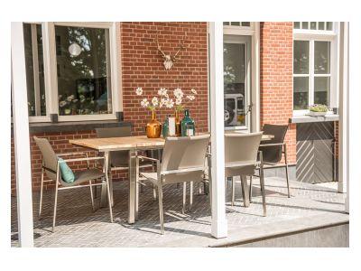 4 Seasons Outdoor Maison Ausziehtisch, 150-200 x 99 cm