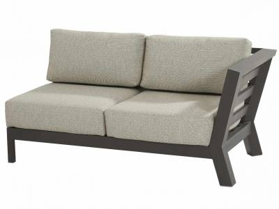 4 Seasons Outdoor Meteoro modular 2 -Sitzer Sofa L arm inkl. 4 Kissen (ohne Arm-Kissen)