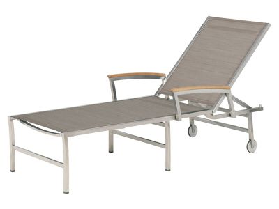4 Seasons Outdoor Nexxt Gartenliege Sunbed, mocca
