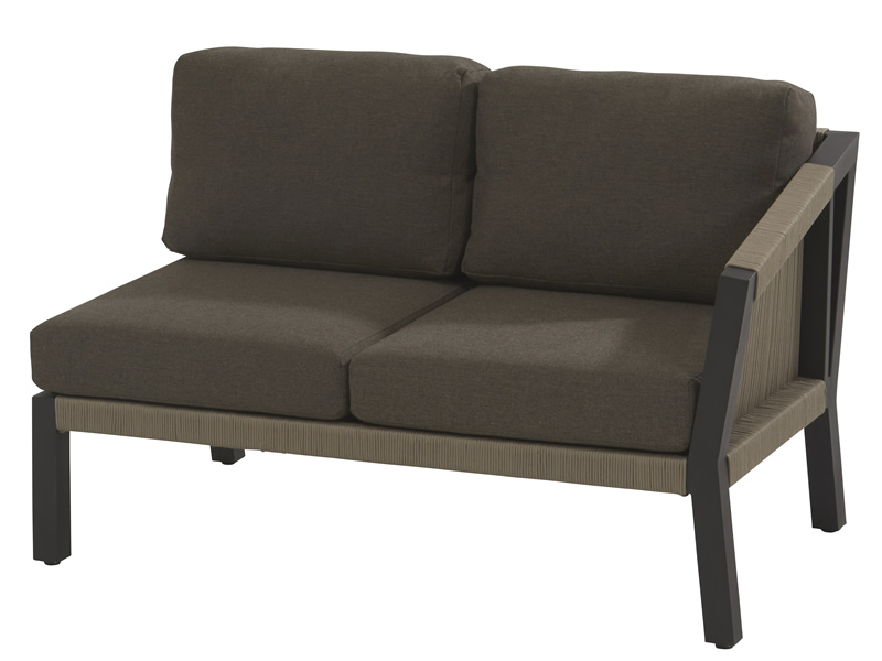 4 Seasons Outdoor Oslo, 2-Sitzer-Sofa, Armlehne links