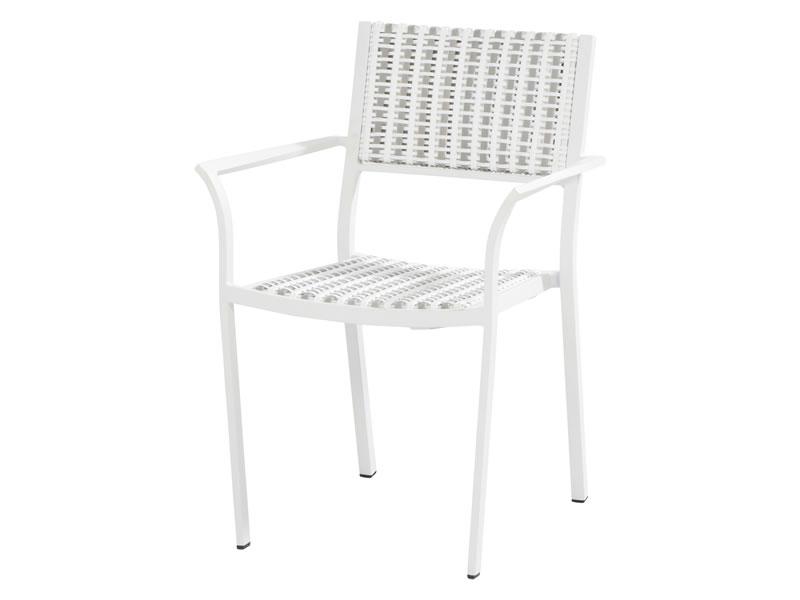 4 seasons outdoor piazza gartenstuhl wei latte. Black Bedroom Furniture Sets. Home Design Ideas