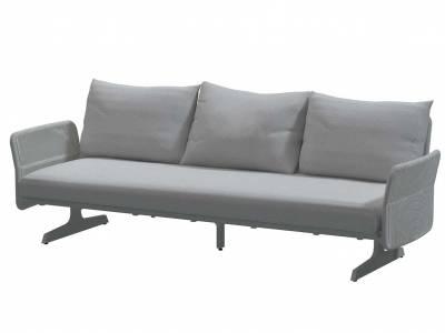 4 Seasons Outdoor Play Panel Concept 3-Sitzer, nur Sitz, inkl. 1 Kissen