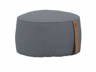 4 Seasons Outdoor Pouf groß 72 x 38 cm anthrazit