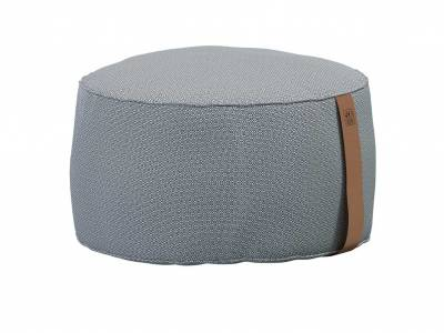 4 Seasons Outdoor Pouf groß 72 x 38 cm mid grey