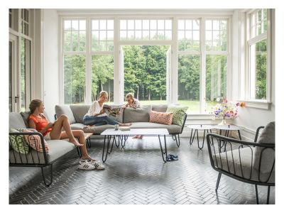 4 Seasons Outdoor Premium Living Sessel inkl. 2 Kissen