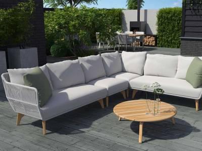 4 Seasons Outdoor Raphael Eck-Modul, inkl. 3 Kissen