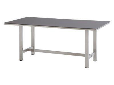 4 Seasons Outdoor Rivoli Table Concept Esstisch 170x95 cm, taupe Alulamellen