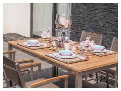 4 Seasons Outdoor Rivoli Table Concept Esstisch 220x95 cm, Teak