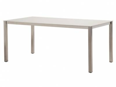 4 Seasons Outdoor Rivoli Table Concept Slimtop Gartentisch 170x95 cm, taupe hell