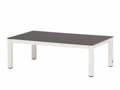 4 Seasons Outdoor Rivoli Table Concept Slimtop Kaffeetisch 120x70 cm,  mittelgrau
