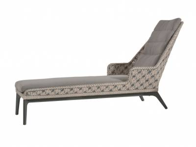 4 Seasons Outdoor Savoy Chaise-Lounge, inkl. 2 Kissen