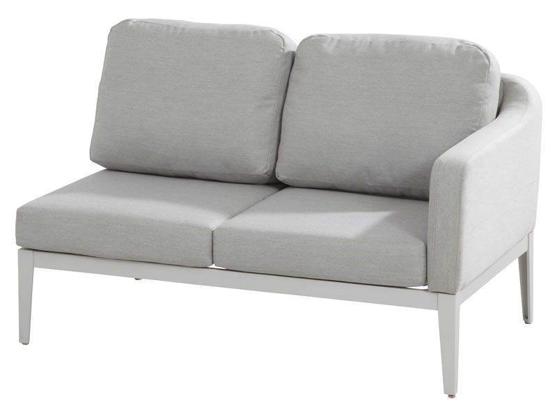4 Seasons Outdoor Serie ALMERIA, 2-Sitzer-Sofa, Armlehne links ...
