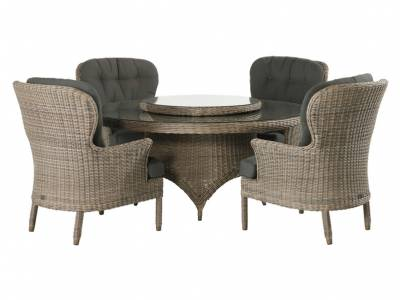 4 Seasons Outdoor Serie Buckingham, Dining Sessel