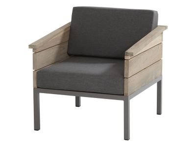 4 Seasons Outdoor Serie Cava Teak, Living Sessel