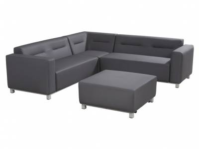 4 Seasons Outdoor Serie CHIVAS, 2-Sitzer-Sofa, Armlehne links