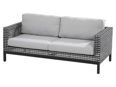 4 Seasons Outdoor Serie DIAS, 2,5-Sitzer-Sofa, Black Pepper