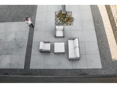 4 Seasons Outdoor Serie DIAS, 2,5-Sitzer-Sofa, Black Pepper
