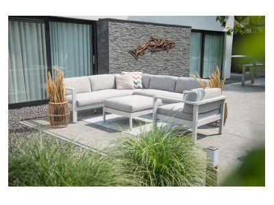 4 Seasons Outdoor Serie Galaxy Living, 3-Sitzer mit zwei Armlehnen