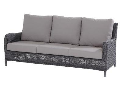 4 Seasons Outdoor Serie Indigo, 3-Sitzer Sofa