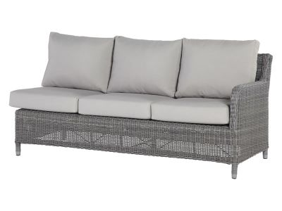 4 Seasons Outdoor Serie Indigo, 3-Sitzer Sofa links