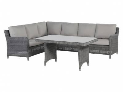 4 Seasons Outdoor Serie Indigo, 3-Sitzer Sofa links