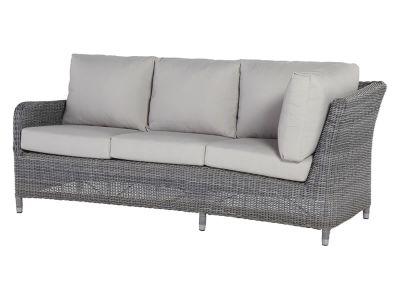 4 Seasons Outdoor Serie Indigo, 3-Sitzer Sofa rechts