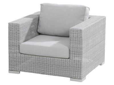 4 Seasons Outdoor Serie LUCCA, Sessel, polyloom ice