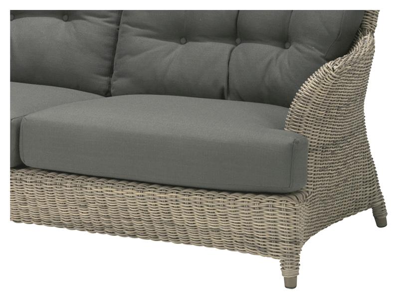 4 seasons outdoor serie valentine 2 5 sitzer sofa gartenm bel hamburg shop. Black Bedroom Furniture Sets. Home Design Ideas