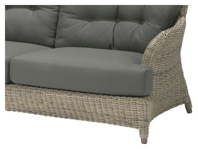4 Seasons Outdoor Serie Valentine, 2,5 Sitzer Sofa