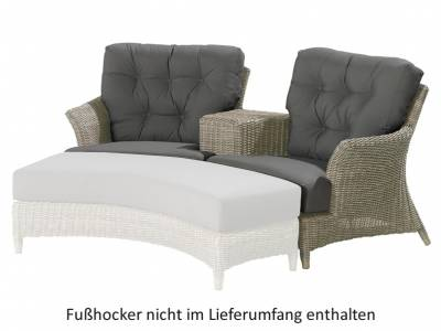 4 Seasons Outdoor Serie Valentine, Love Seat Loungesessel