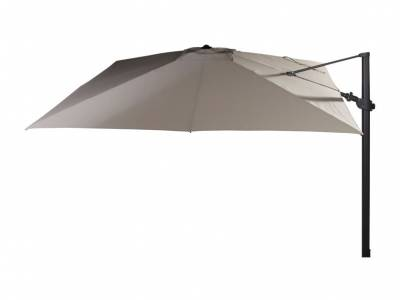 4 Seasons Outdoor Siesta, Premium Sonnenschirm 300x300 cm, taupe oder charcoal