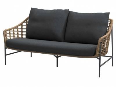 4 Seasons Outdoor Timor 2.5 Sitzer Sofa Harvest, inkl. 3 Kissen