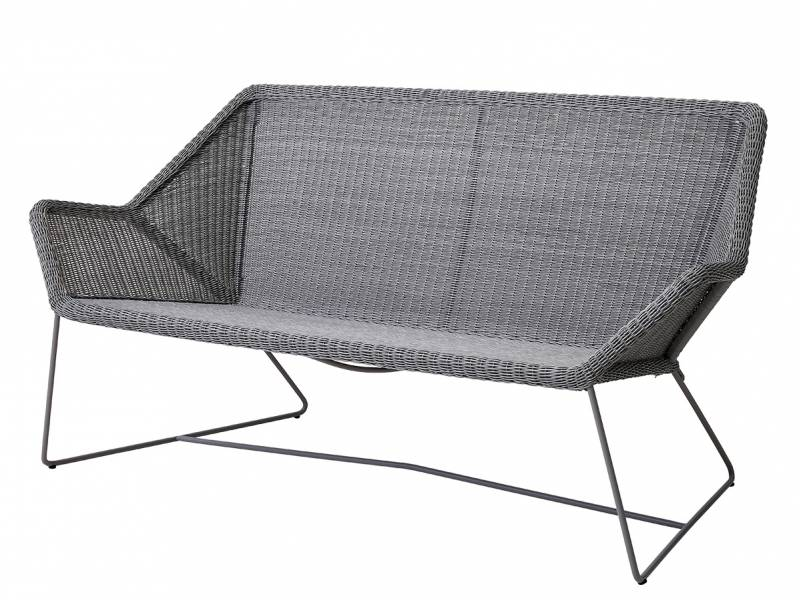 Cane-line Breeze 2 Sitzer Loungesofa, light grey