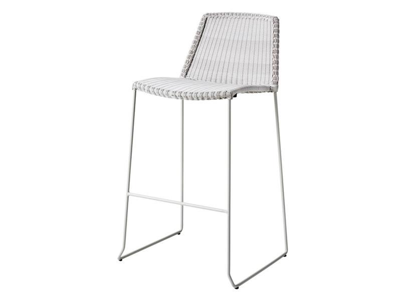 cane line breeze barhocker stapelbar weiss gartenm bel. Black Bedroom Furniture Sets. Home Design Ideas