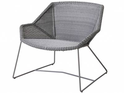 Cane-line Breeze Loungesessel, light grey