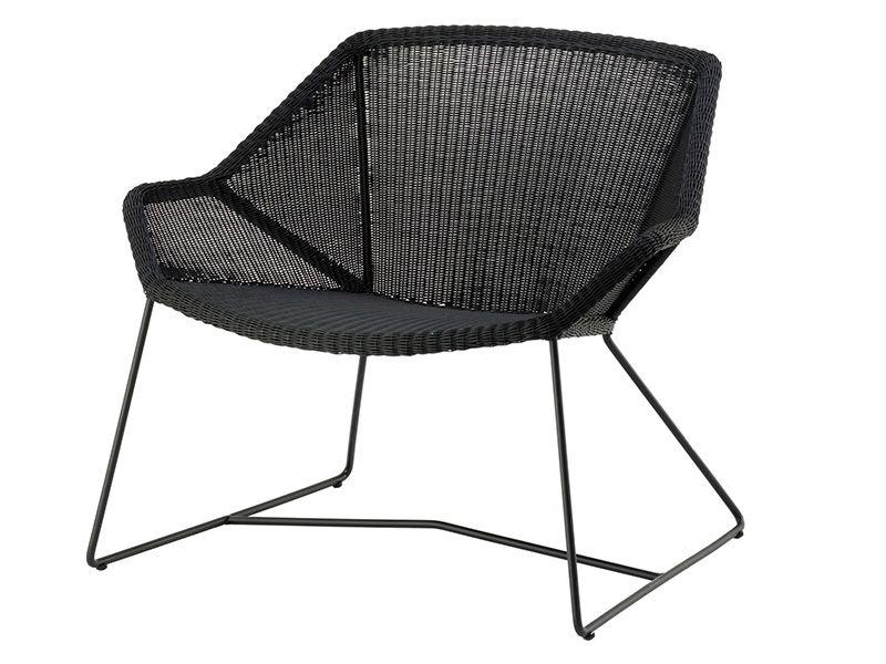 Cane-line Breeze Loungesessel, schwarz